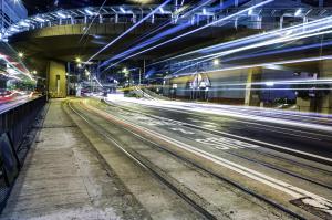 Bus and Tram Lane