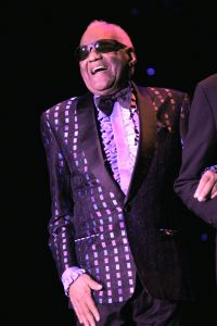 Ray Charles Performs In Superstar Theater