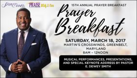 15th Annual Prayer Breakfast Featured Graphic