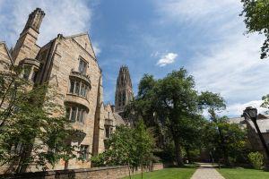 Library Walk, Yale University Campus