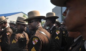 Funeral for Maryland State Trooper First Class Wesley W. Brown