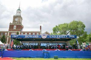 President Obama at Howard University Graduation