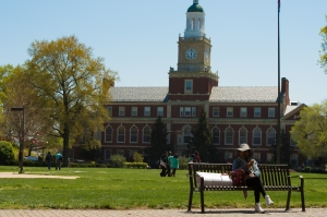 WASHINGTON, DC - APRIL 15: Howard University is a federally ch