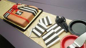 Gary's Burberry Birthday Cake
