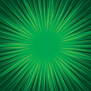 Jungle Starburst Concentric Vector Pattern