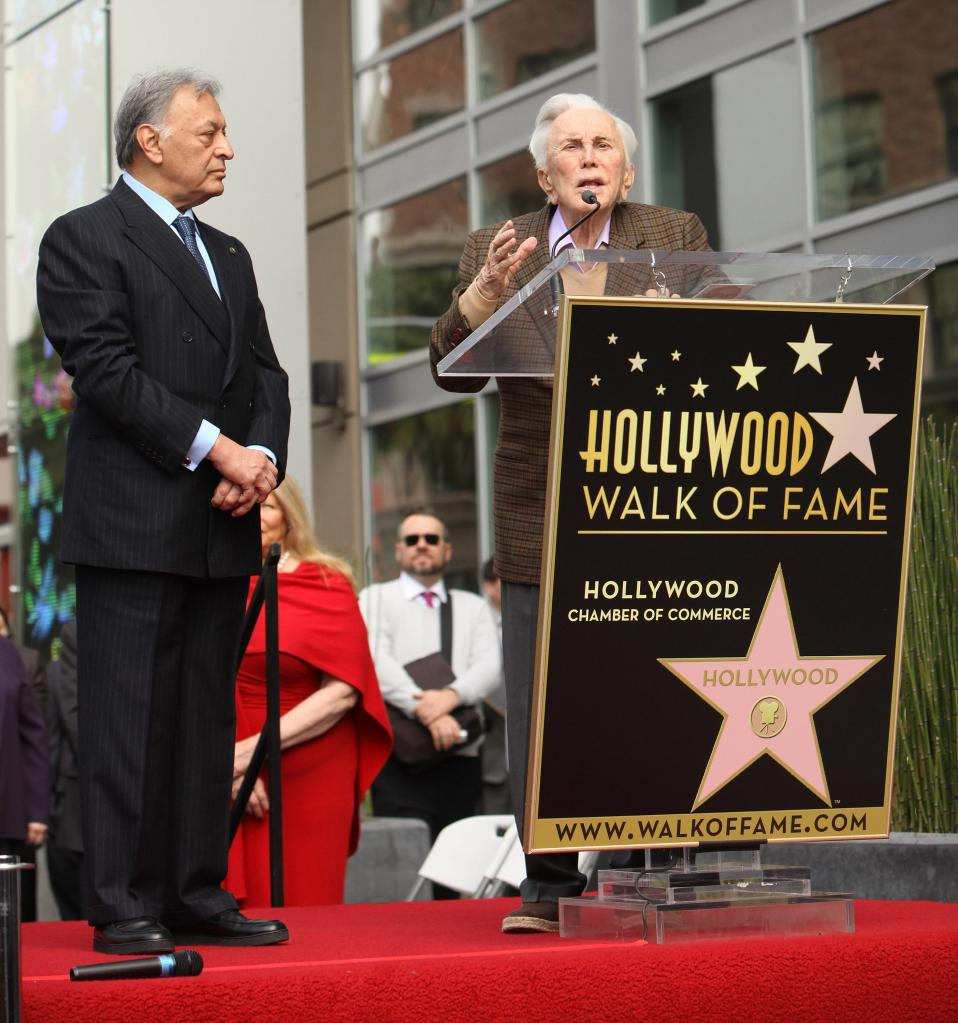 Maestro Zubin Mehta Receives A Star On The Hollywood Walk Of Fame