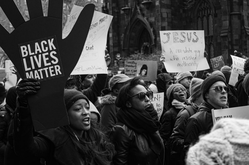 Millions March On NYC/ Black Lives Matter