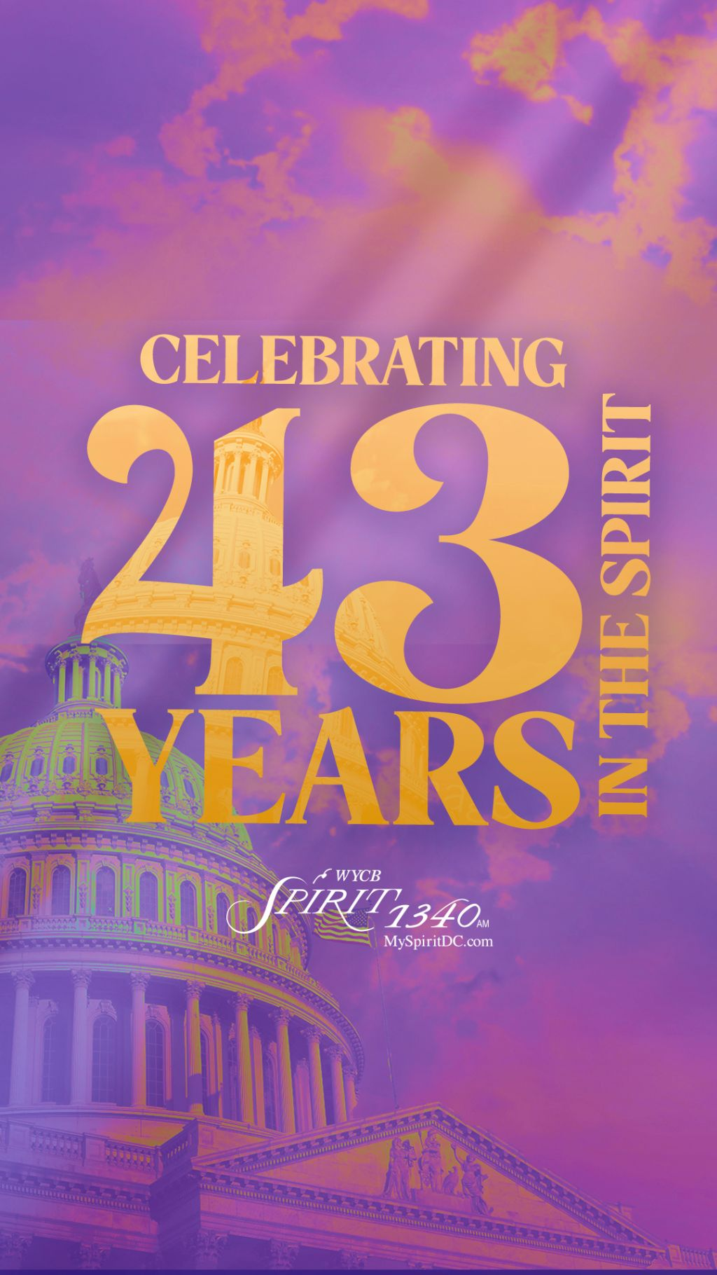 WYCB 43rd Anniversary