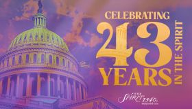 WYCB 43rd Anniversary Graphics