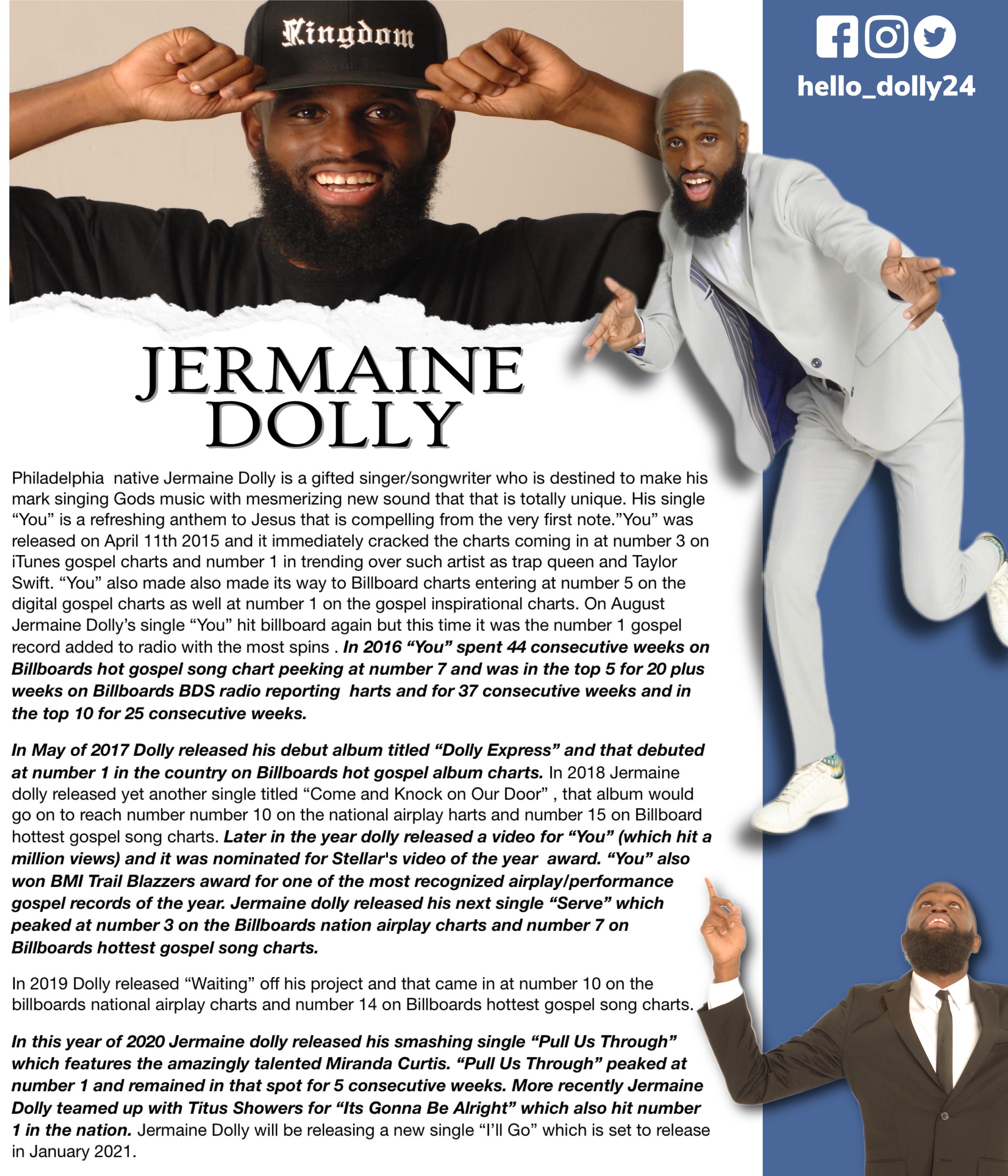 Jermaine Dolly's Bio