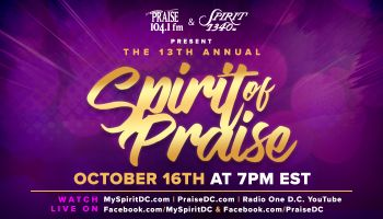 The 13th Annual Spirit of Praise Graphics 2021
